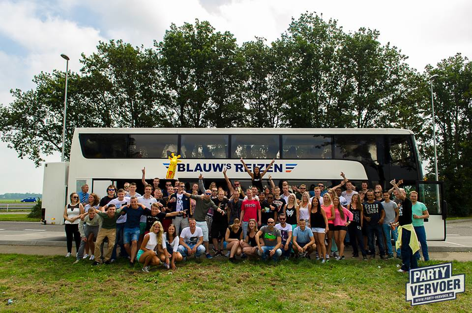Busvervoer naar HARDFEST -> €10,- combivoordeel!