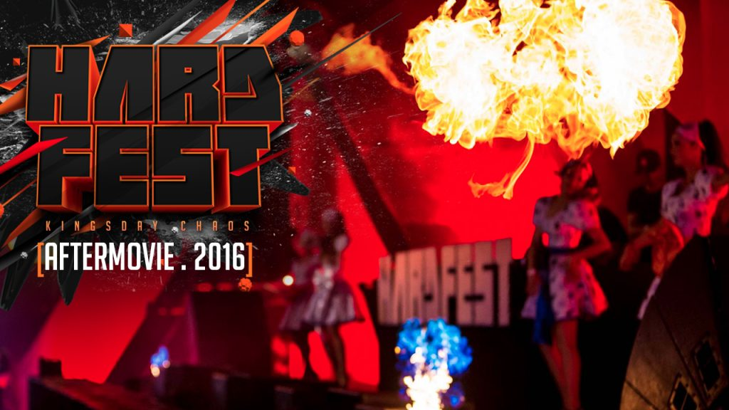 Aftermovie HARDFEST- Kingsday chaos 2016