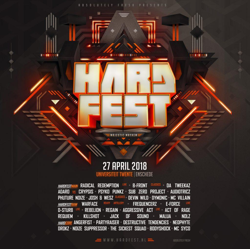 Line up HARDFEST – Majestic Mayhem